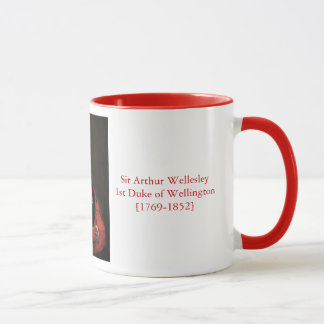 Duke of Wellington Waterloo Mug