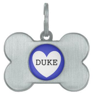 ❤️  DUKE pet tag by DAL