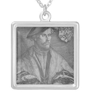 Duke Wilhelm V of Cleve, 1540 Silver Plated Necklace