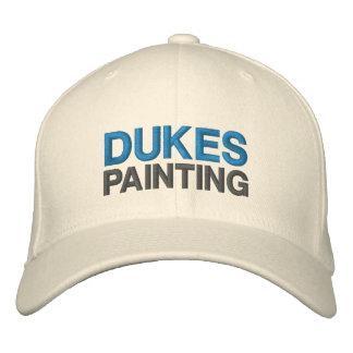 Dukes Painting Wool Baseball Cap