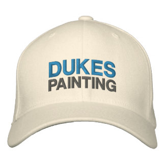 Dukes Painting Wool Baseball Cap