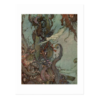 Dulac's The Little Mermaid Postcard