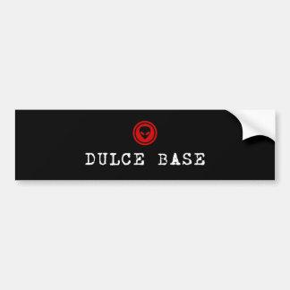 DULCE BASE BUMPER STICKER