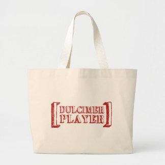 Dulcimer Player Canvas Bag