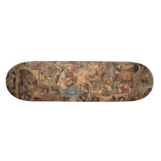 Dulle Griet (Mad Meg) by Pieter Bruegel 20.6 Cm Skateboard Deck