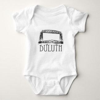 Duluth Aerial Lift Bridge Baby Bodysuit