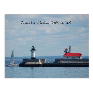 Duluth Harbor, Canal Park Harbor  Duluth, MN Postcard