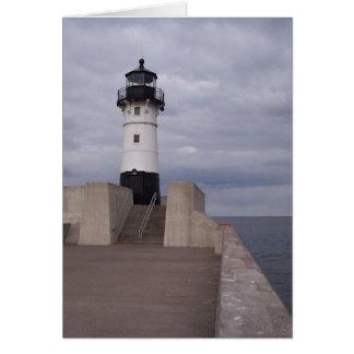 Duluth Lighthouse Card