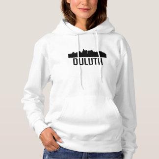 Duluth Minnesota City Skyline Hoodie