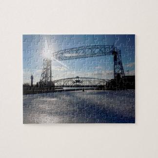Duluth Minnesota Lift Bridge Puzzle