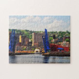 Duluth Minnesota, SS William A Irvin Jigsaw Puzzle