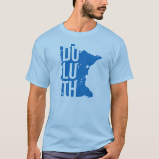 Duluth, Minnesota t-shirt with map