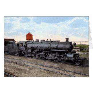 Duluth Minnesota Train Engine Card