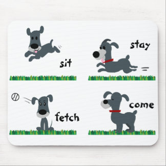 Dumb Dog Mouse Pad