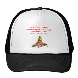 DUMB insult Trucker Hat