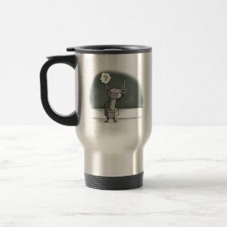 Dumbbell, Funny Travel Mug