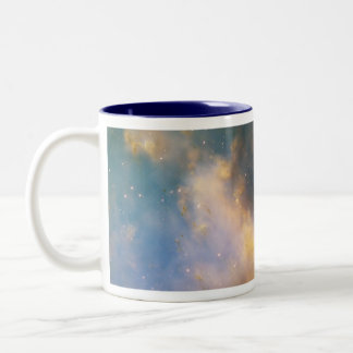 Dumbbell Nebula, The Dumbbell Nebula Two-Tone Mug