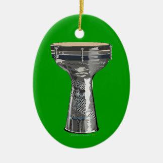 Dumbek Doumbek Darbuka Drum Green Ornament
