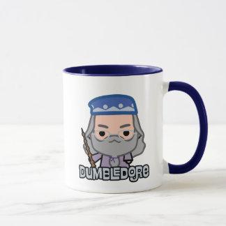 Dumbledore Cartoon Character Art Mug