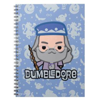 Dumbledore Cartoon Character Art Notebook