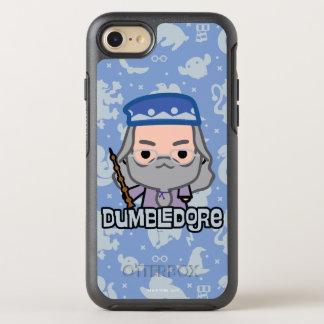 Dumbledore Cartoon Character Art OtterBox Symmetry iPhone 8/7 Case