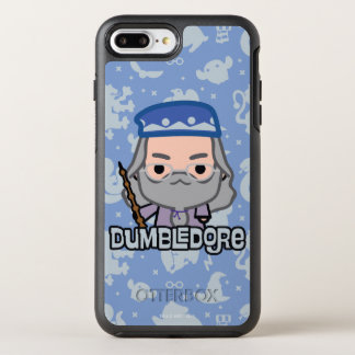 Dumbledore Cartoon Character Art OtterBox Symmetry iPhone 8 Plus/7 Plus Case