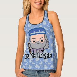 Dumbledore Cartoon Character Art Singlet