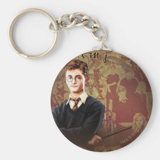 DUMBLEDORE'S ARMY™ BASIC ROUND BUTTON KEY RING