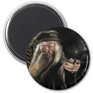 Dumbledore Script Logo 6 Cm Round Magnet