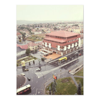 Dumbrava shopping center, Sibiu 17 Cm X 22 Cm Invitation Card