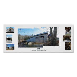 Dummerston Covered Bridge, Vermont Poster