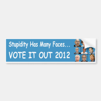 Dummies Bumper Sticker