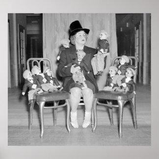 Dummy Dan Dolls: 1938 Poster