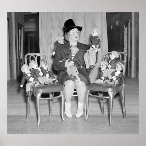 Dummy Dan Dolls: 1938 Print