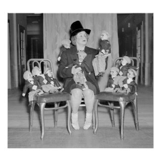 Dummy Dan Dolls 1938 Print