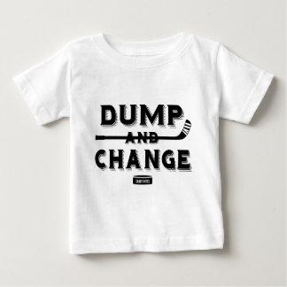 Dump and Change Hockey Baby Baby T-Shirt