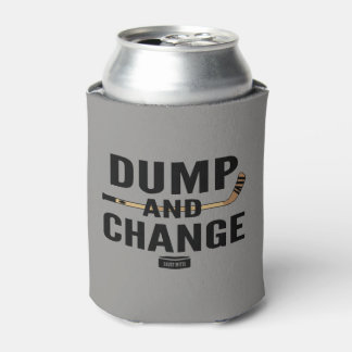Dump and Change Hockey Stick Color Can Cooler