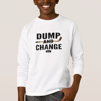 Dump and Change Youth Hockey Stick Color T-Shirt