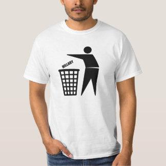 DUMP HILLARY - PITCH IN! T-Shirt