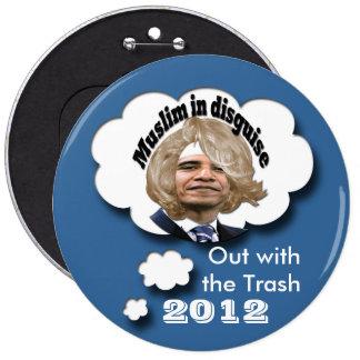 Dump Obama 6 Cm Round Badge