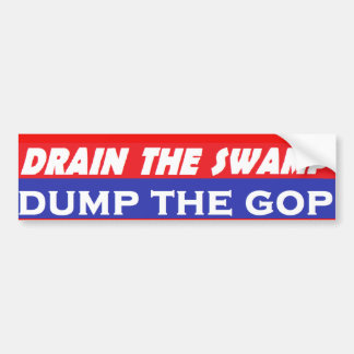 Dump The GOP Bumper Sticker