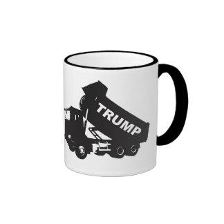 Dump the Trump - Dump Truck Ringer Mug