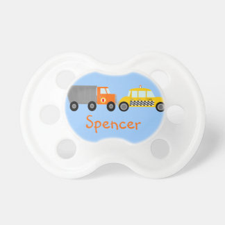Dump Truck and Taxi Cab Cars Personalized Dummy