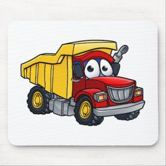 Dump Truck Cartoon Character Mouse Pad