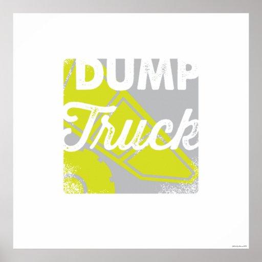 Dump Truck   Dump Truck Children's Art Print Print