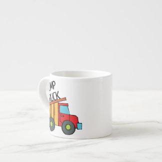 Dump Truck Espresso Mug