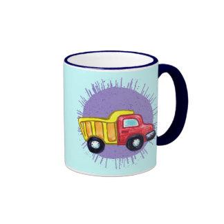 Dump Truck Coffee Mugs