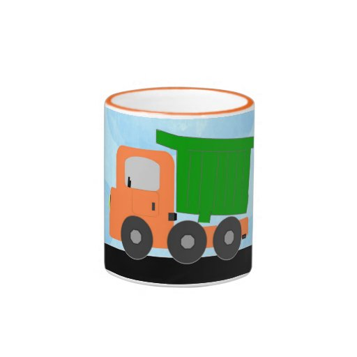 Dump Truck (orange) Mug