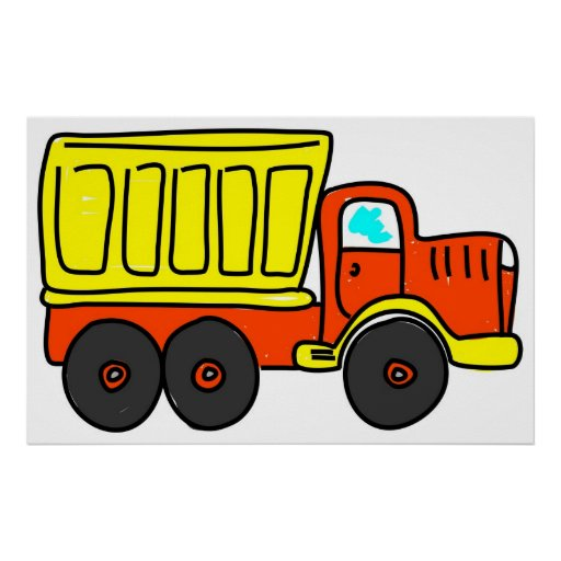Dump Truck Posters