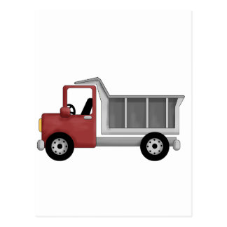 Dump Truck Tshirts and Gifts Postcard